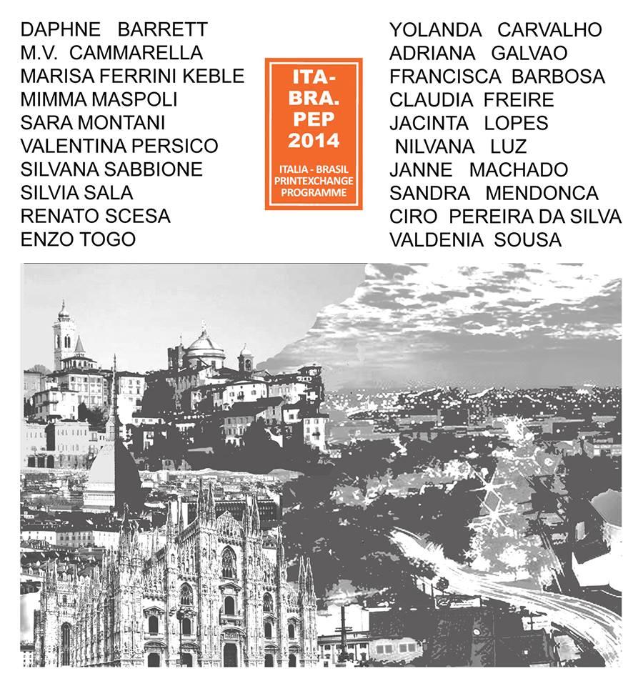 ITALIA-BRASIL Print Exchange