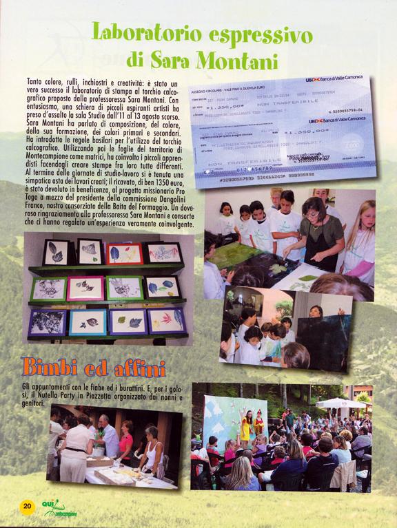 laboratorio di Stampa a montecampione 2010 leggero