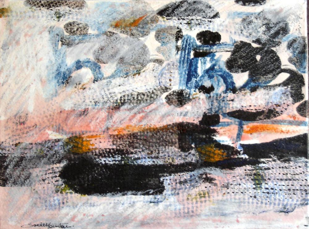 PAESAGGIO LIQUIDO - 2005, cm 20x26 Tec. mista su carta intelata.jpg