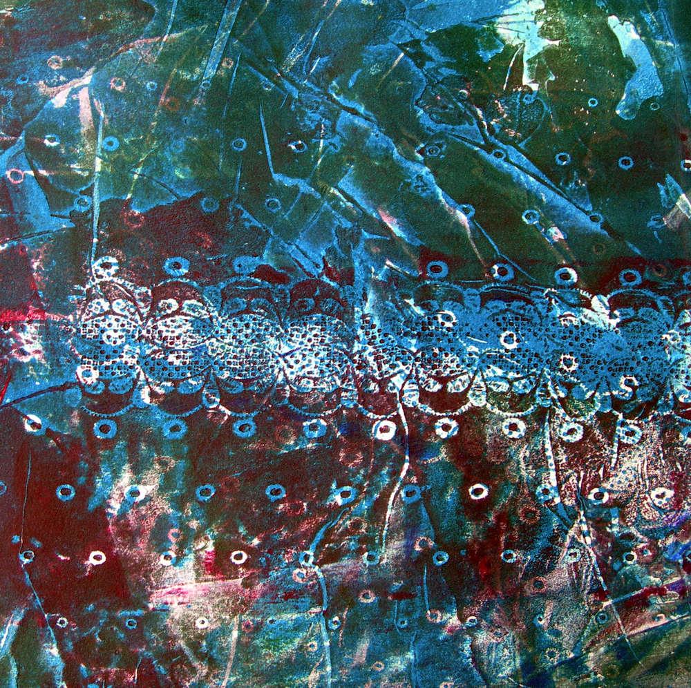 Sott'acqua, 2007. Tecnica mista su carta intelata cm. 30x30.jpg