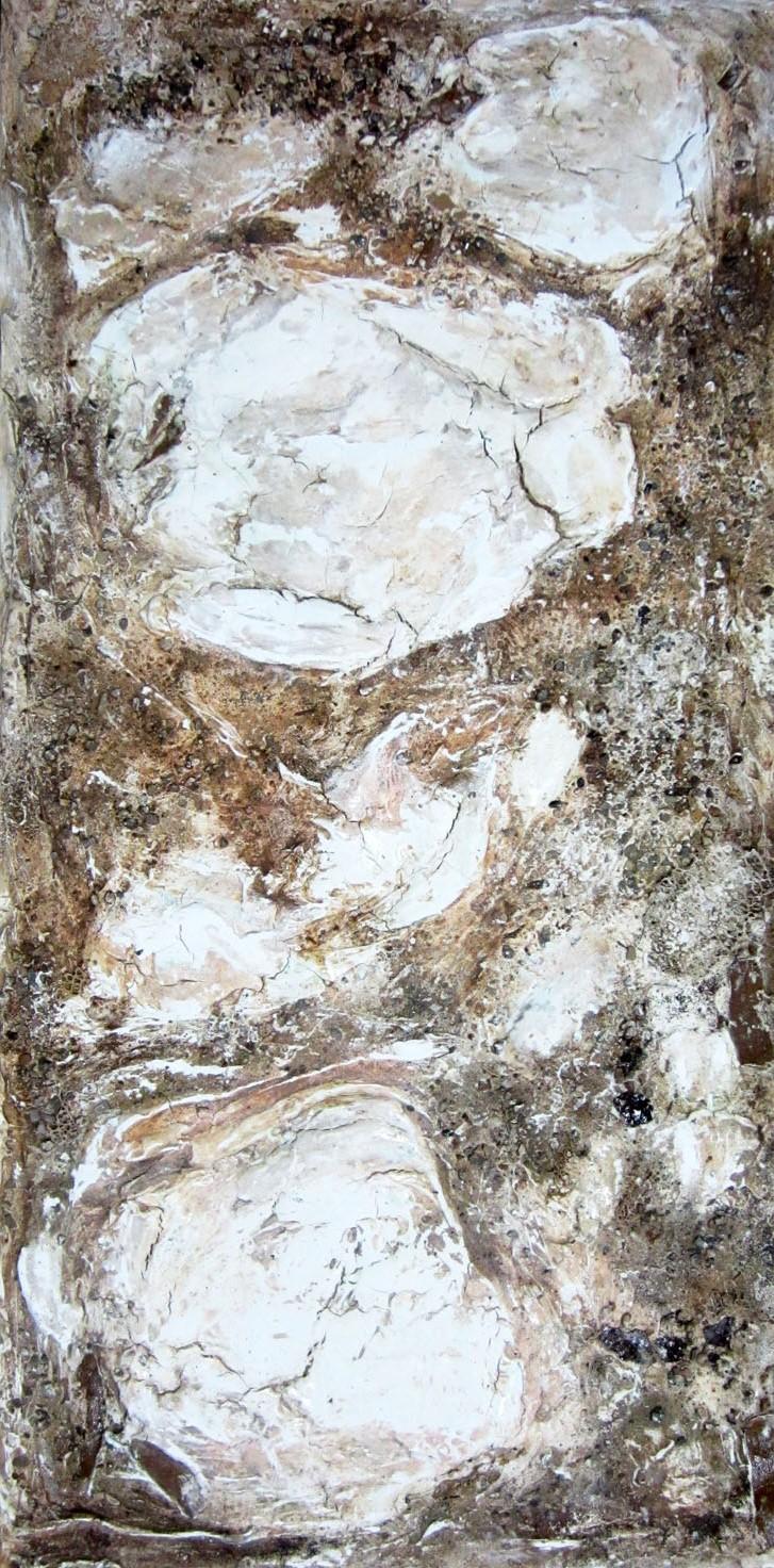 La via francigena, 2012 tecnica mista cm. 45x90