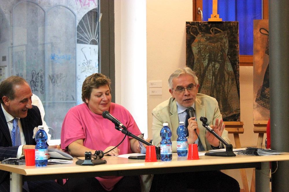 Domenico Piraina, Mimma Pasqui e Giuseppe Landonio