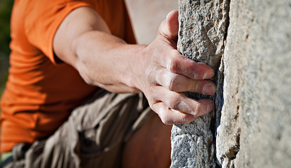 Rock climber handhold in San Diego. san diego commercial photographer, san diego fitness photographer, san diego fitness photography, southern sports photographer, California sports photographer