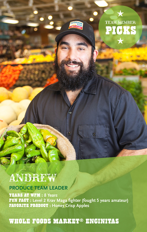 Andrew of Encinitas Whole Foods. san diego advertising photographer, san diego advertising photography, southern California advertising photographer, California advertising photographer