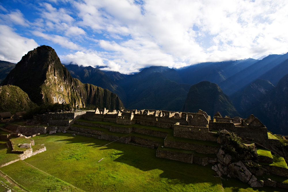 Insane photo of Machu Picchu.