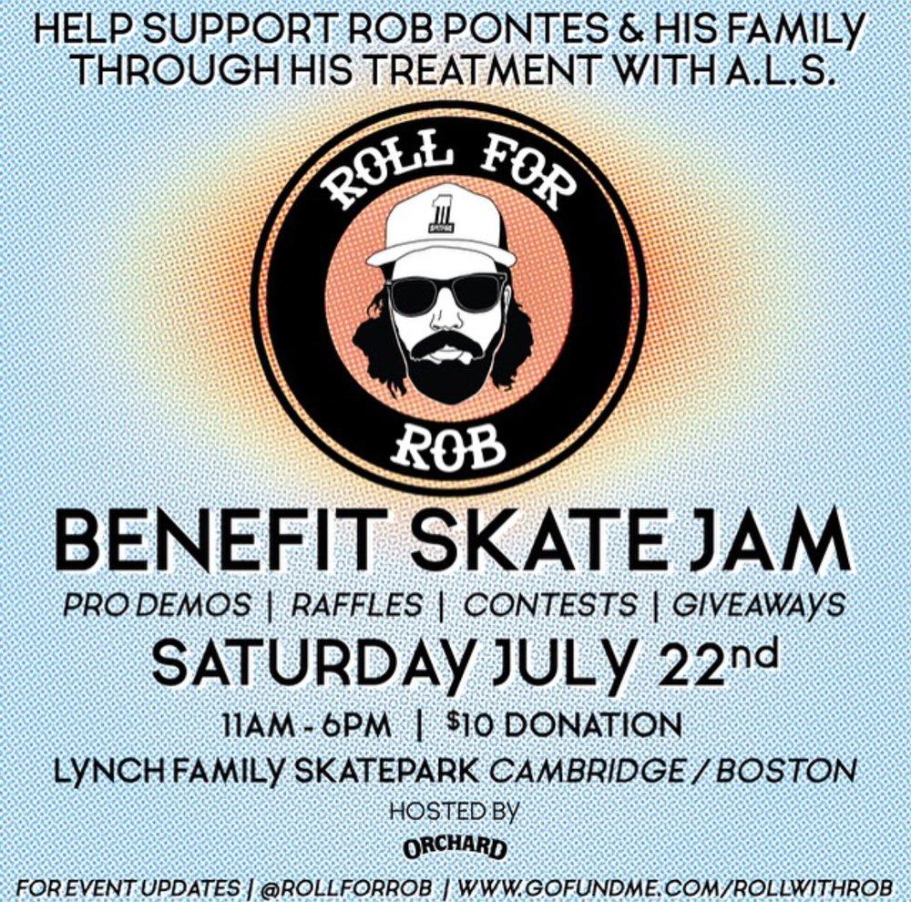 Benefit Skate Jam - July 22, 2017