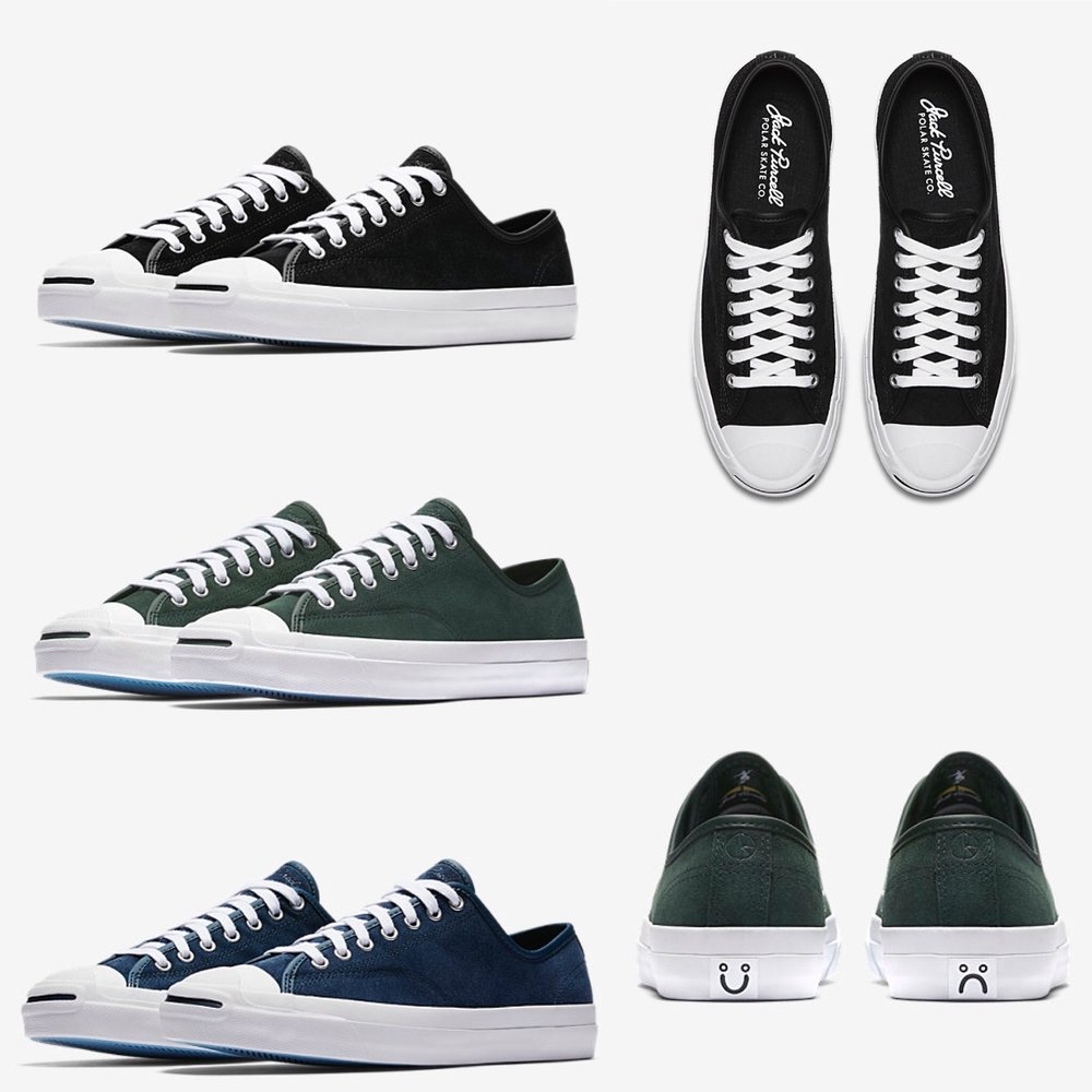Converse teamed up with Polar Skate Co. to bring the Jack Purcell Pro 58aeafa48