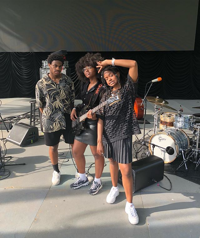 We've been singing in Central Park for 10+ years, y'all already knew that. But today, we're playing the CP Summer Stage! If you're around, come through. It's a beautiful day ;) #Goddidthat
