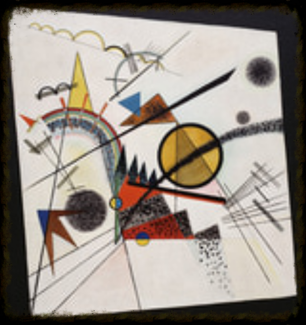 Diagnole by Kandinsky is a reminder that imagination builds innovation and inspires people to create.  Please see below to donate, today.