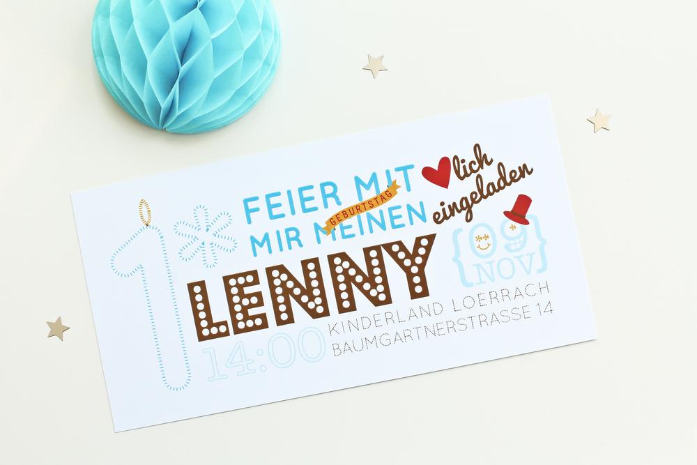 LENNY |1st BIRTHDAY