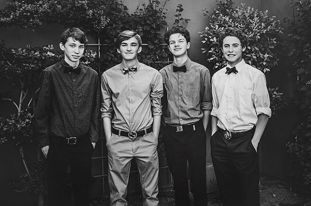 Young gentlemen. #homecoming2018