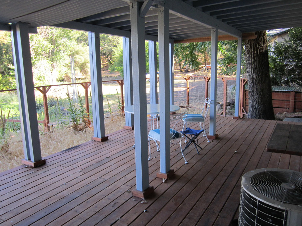 Lower Level Deck