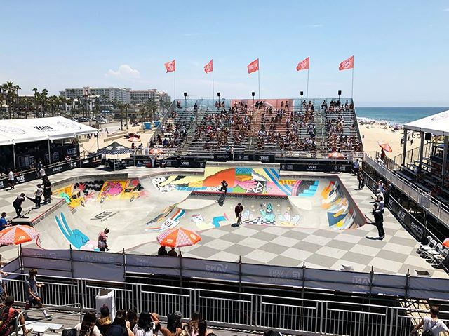 I always enjoy my time at the @vansusopen. Another beautiful day of #surfing and #skateboarding.  #exit #choose2exit #where2exit #surfer #skater #huntingtonbeach #vansusopenofsurfing #california #2018
