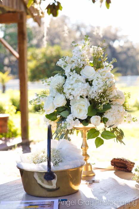 White Flowers wedding