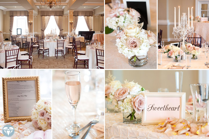 Blush wedding Don Cesar