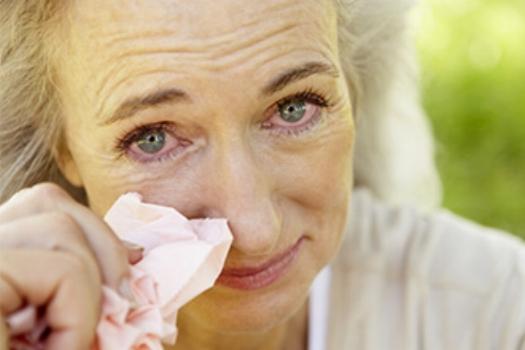 Common allergic response to pollen allergy