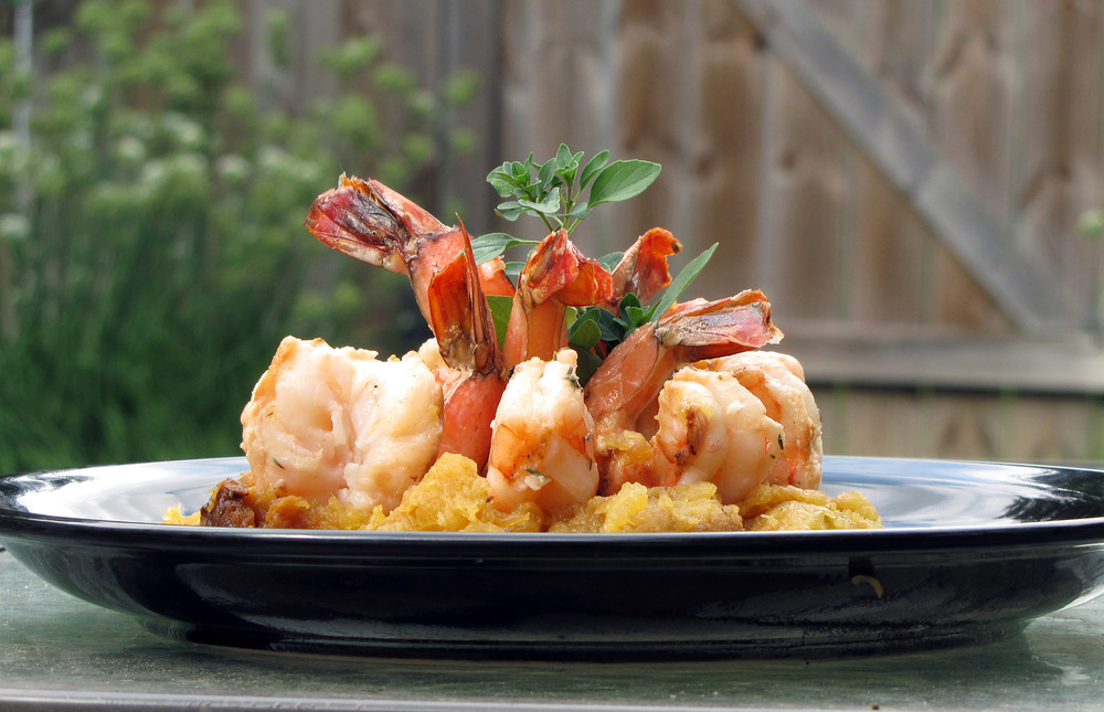 Serve those jumbo shrimp at their best with a soak in Tuley Brothers Bad Ass Marinade. Even the largest shrimp will stay plump and moist.