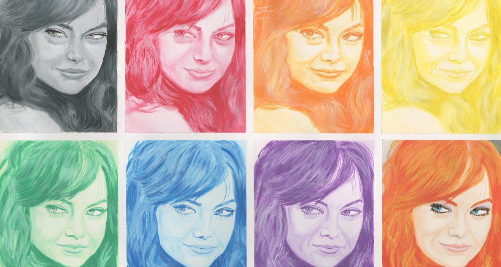 Faces of Emma Stone