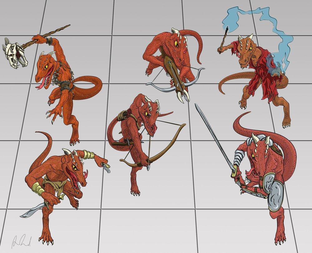 Kobold Tokens | News — Dragonwing Graphics