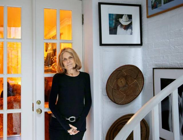Often missed in her body of work is Gloria Steinem's time as an agent with the CIA in the 1950s and '60s. Seth Wenig The Associated Press