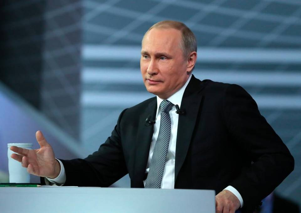 Russian President Vladimir Putin argues the Panama Papers are a foreign conspiracy aimed at toppling him and weakening Russia. Mikhail Klimentyev The Associated Press