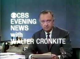 "Walter Cronkite was once considered America's ""most trusted"" person as he summarized the day's most important events on the CBS Evening News."