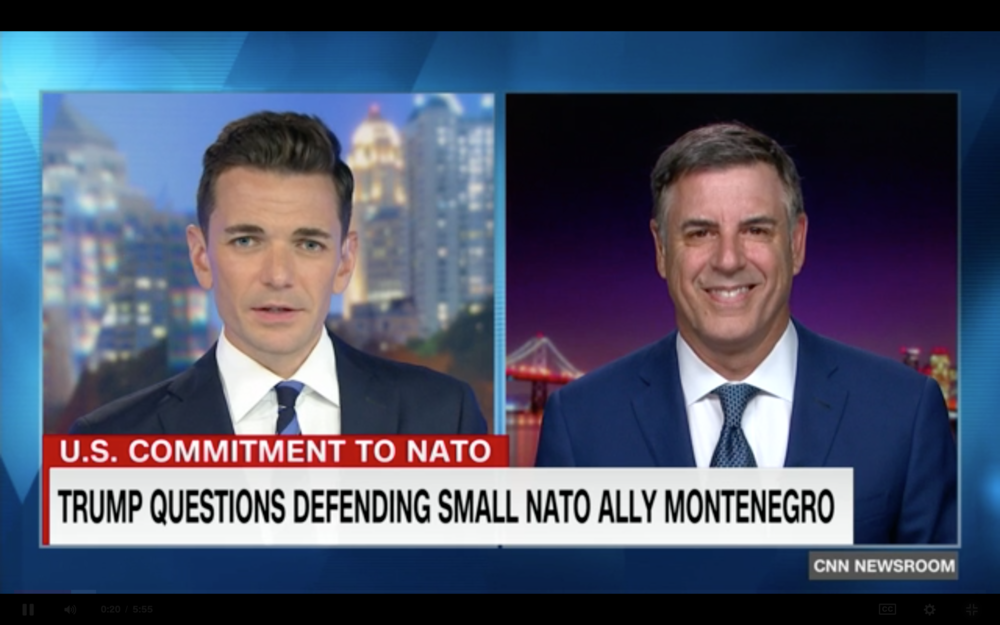 Markos Kounalakis, Visiting Fellow at the Hoover Institution at Stanford University, discusses the uncertainty around President Trump's comments about NATO.     CLICK HERE FOR VIDEO