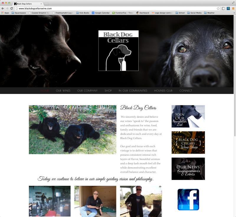 Black Dog Cellars - YUMMY wine!  sc 1 st  Design-360 & Black Dog Cellars - YUMMY wine! u2014 Design-360