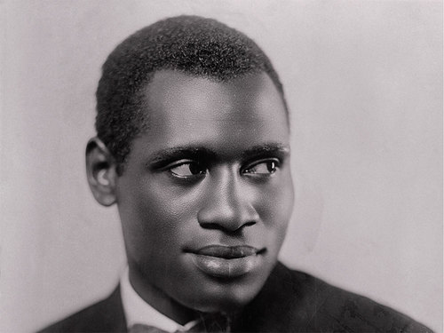 Paul Robeson, son of Rev. William Robeson