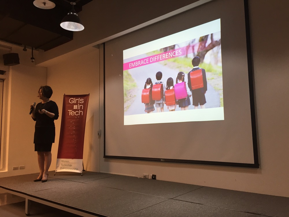 Ari Horie, Founder of Women StartUp Lab, was taught at a very young age to embrace her uniqueness. Her mother gave her a pink backpack and she was forced to stand out from the rest of the kids at school. #socool