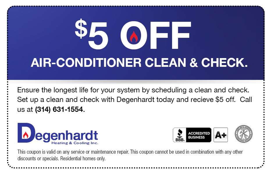 $5 off HVAC cleaning
