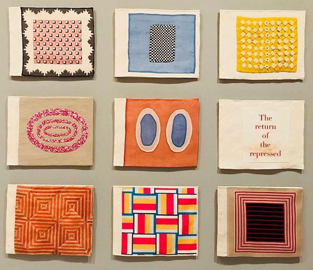 Louise Bourgeois exhibit 💕#quiltart