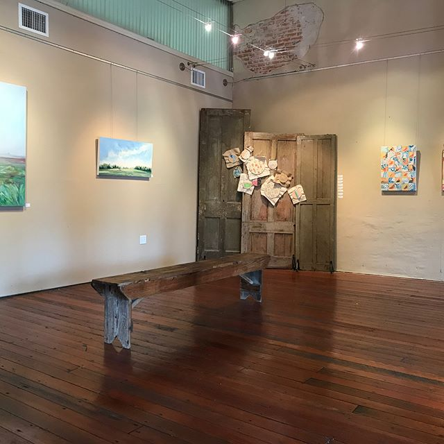 """Last weekend was a dream that I did not want to wake up from! Thank you to all of our friends and family that travelled to support our show, """"Drawn Together."""" Let's do it again @elizabethsageart !!!"""