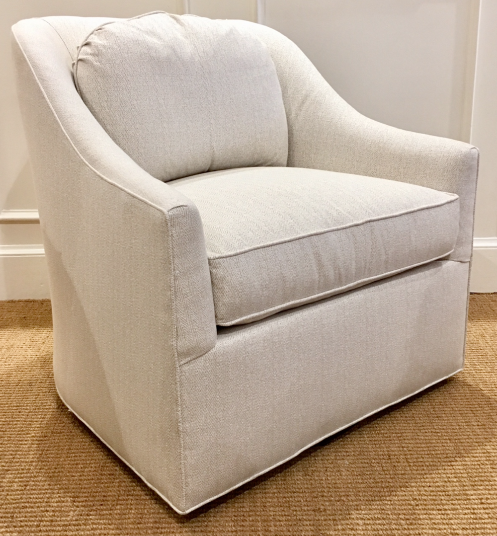 Brooks Swivel Chair $1495