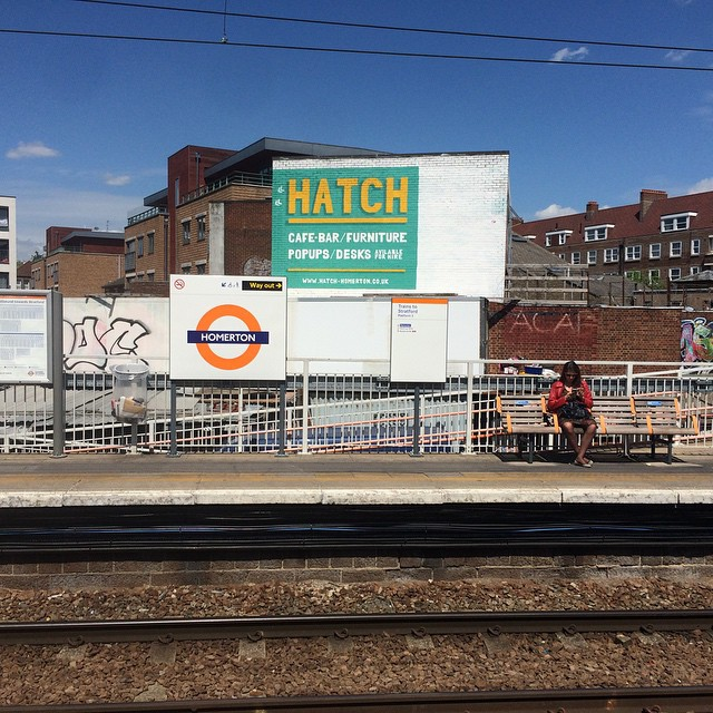 Our event The Pages Open is tomorrow night at @hatchhomerton in #Hackney. If you like #poetry, #shortfilms and #chaos, then come down. Look how close it is to the overground station. #London
