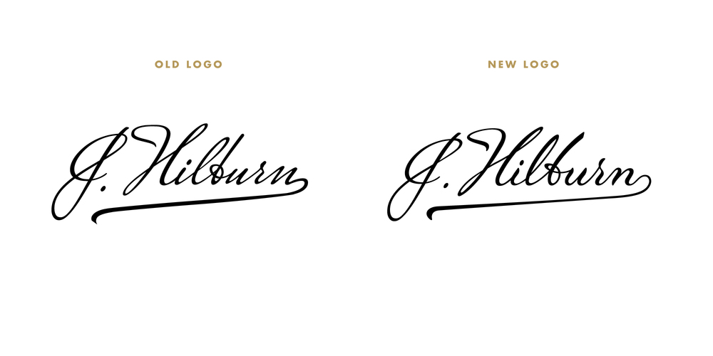 While The Overall Shape Of Old Logo Was Nice Individual Letterforms Needed Work