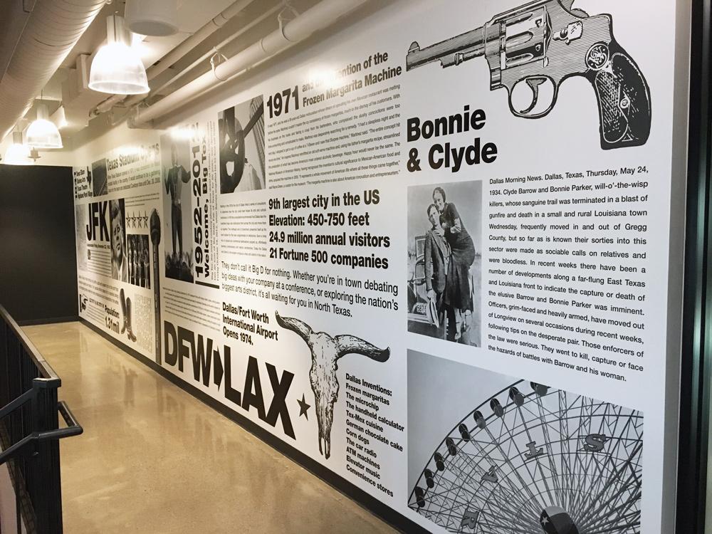 Dallas wall mural