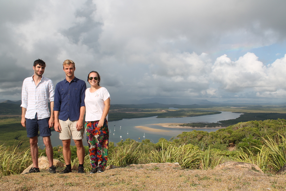 CYLC Aurora Interns at Cooktown Lookout – on country visit for Olkola People land hand-back ceremony