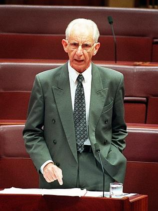 The Hon Brian Harradine, via The Mecury