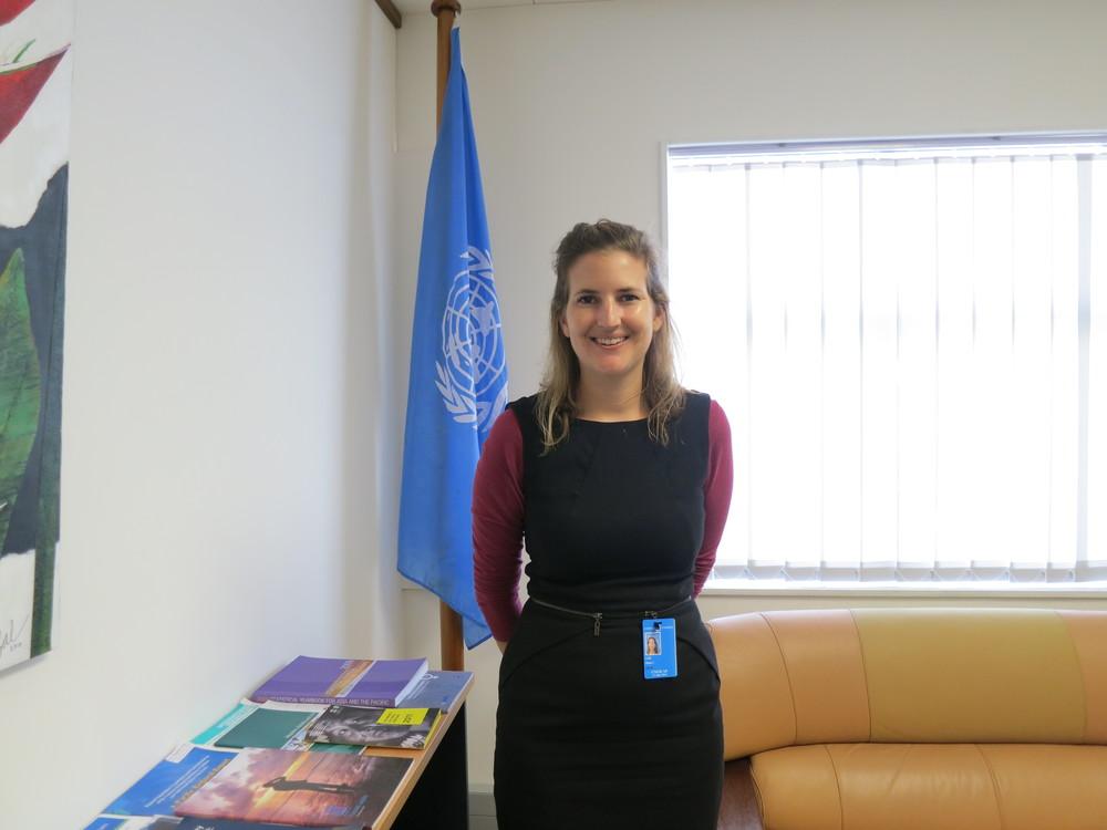 Jillian Ash at UNESCAP