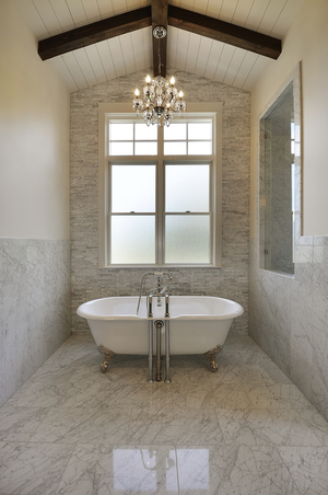 Summit Stoneworks Austin Granite Quartz Flooring Tile - Bathroom showroom austin tx