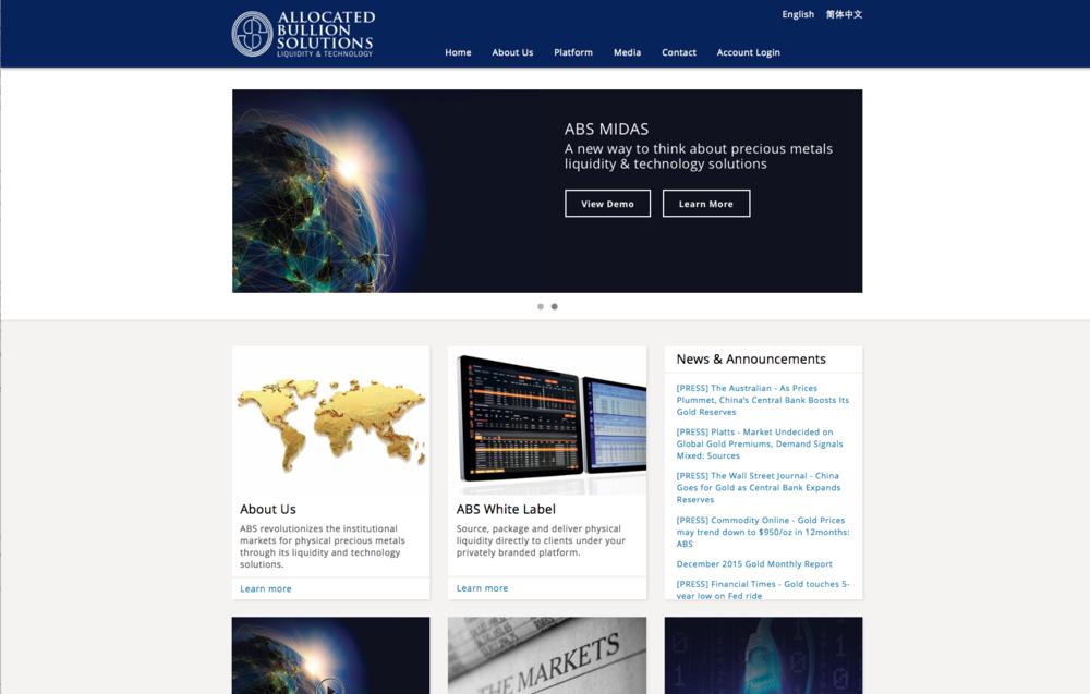 Website redesign 2016