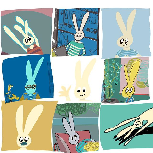 The faces of Leaf the Yoga Bunny. A project I've been working on addressing health, yoga and interior spaces. This little guy is like a mood ring, having his ups and downs just like any of us. 🐰 How often do you find yourself travelling and needing/wanting to do a bit of yoga. Hotel yoga props? A little guide of quick poses to get you moving? Stay tuned.... • • • #interiors#yoga#interiors123#health#architecture#healthyinteriors#yogaspaces#interiordesign#interiorstyle#interior_design#yogainspiration#healthyfood#healthylifestyle#art#artinteriors#artistsoninstagram #artoftheday#follow#siobhandonoghuedesign