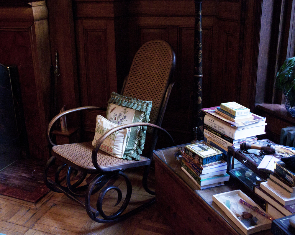 Elinor's office. Image courtesy of the British Gestalt Journal.