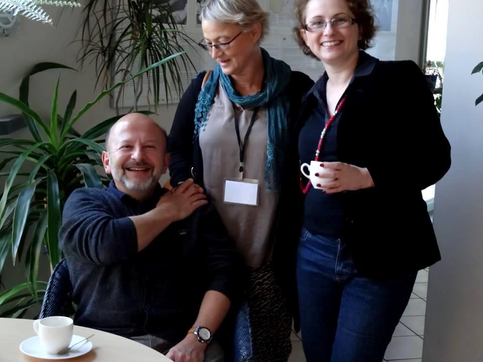 Piotr Mierkowski, Krystyna Ablewicz andRenata Mizerska. Image courtesy of PTPG.
