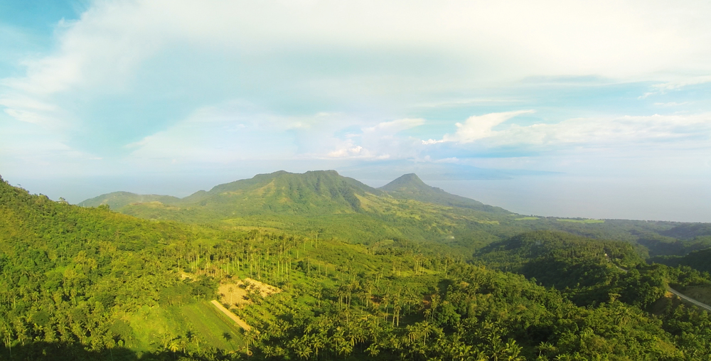 Mount Uhay and Mount Ilihan in Guinsiliban.