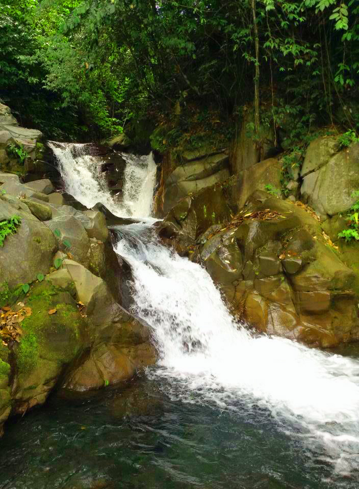 Falls in Tuasan River