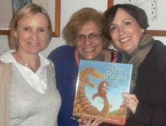 Susanne Gervay launches The Croc and the Platypus at the Children's Bookshop, Beecroft