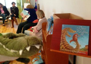 Susanne Gervay launches The Croc and the Platypus