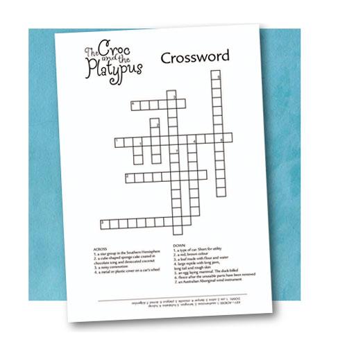 Crossword Puzzle (pdf file 647 kb)